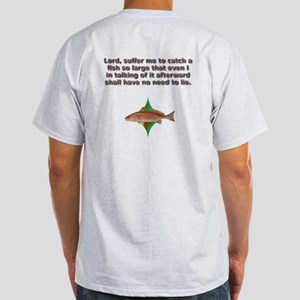 Red Drum Fisherman's Prayer Light T-Shirt