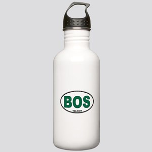 (BOS) Celtics Euro Oval Stainless Water Bottle 1.0
