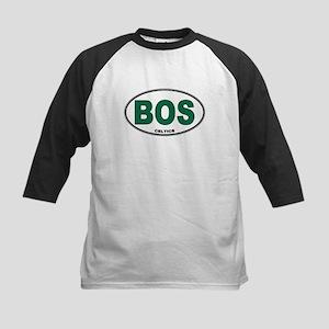 (BOS) Celtics Euro Oval Kids Baseball Jersey