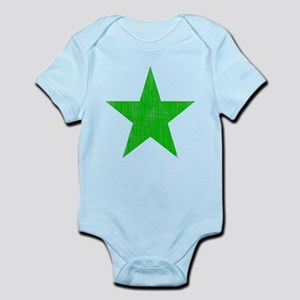 Green Star Infant Bodysuit