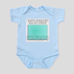 Got here fast! Colorado Infant Bodysuit
