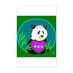 Panda Mini Poster Print