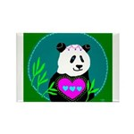 Panda Rectangle Magnet (100 pack)