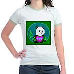 Panda Jr. Ringer T-Shirt