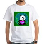 Panda White T-Shirt