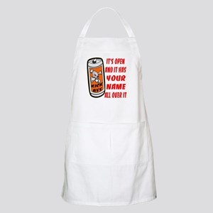 Open Can Of Kick Ass Apron