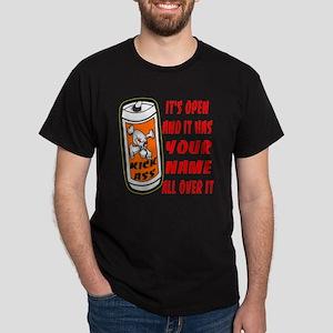 Open Can Of Kick Ass Dark T-Shirt