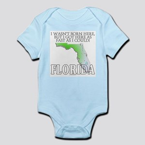 Got here fast! Florida Infant Bodysuit