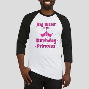 50th Birthday Princess! Baseball Jersey