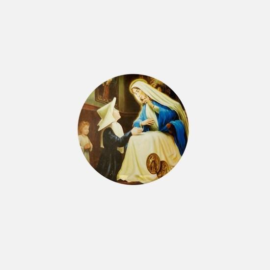 St.Catherine Laboure Mini Button