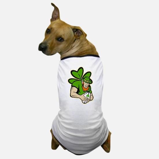 rish leprechaun rugby Dog T-Shirt