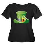 St. Patrick's Day Women's Plus Size Scoop Neck Dar