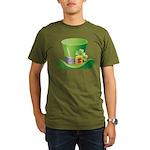 St. Patrick's Day Organic Men's T-Shirt (dark)