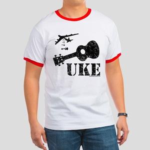 UKE Bomber Ringer T