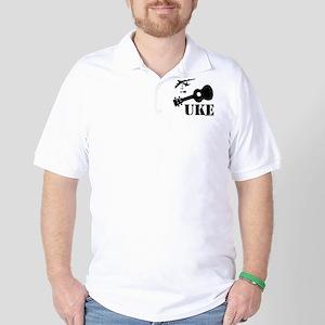 UKE Bomber Golf Shirt