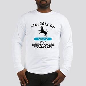 Treeing Walker Coonhound Long Sleeve T-Shirt