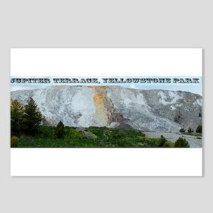 Jupiter Terrace, Yellowstone Park Postcards (Packa