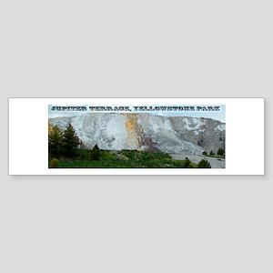 Jupiter Terrace, Yellowstone Park Sticker (Bumper)