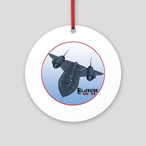 The Blackbird Ornament (Round)