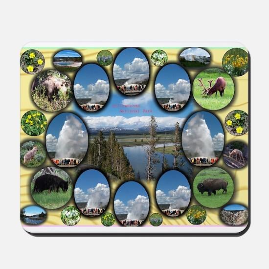 Yellowstone Park Mousepad