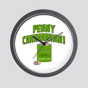 Penny Can Wall Clock