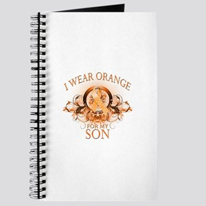I Wear Orange for my Son (floral) Journal