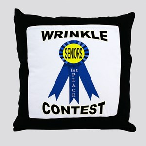 A WINNER Throw Pillow