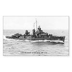 USS CHARLES AUSBURNE Sticker (Rectangle)