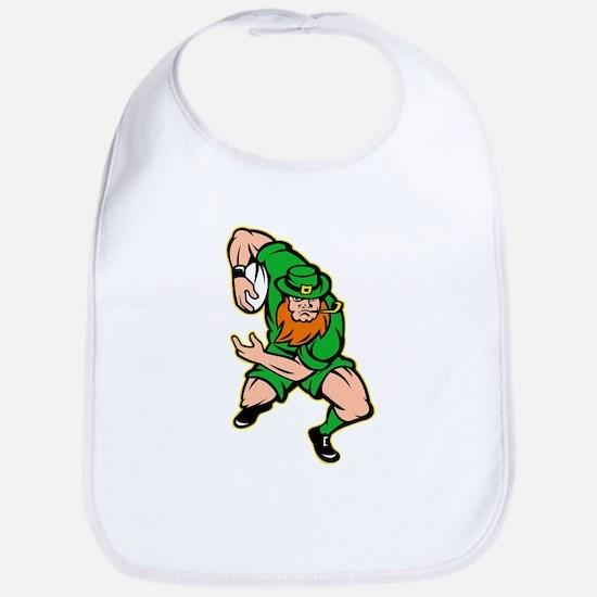 Irish leprechaun rugby Bib