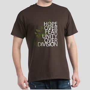 Obama Vine Half - Over Division Dark T-Shirt