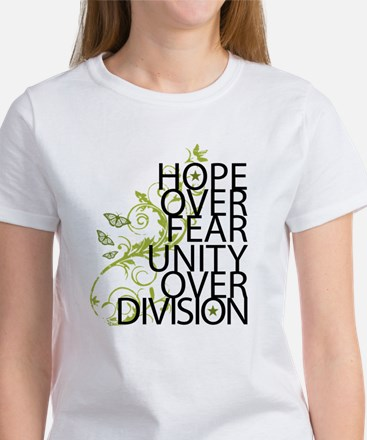 Obama Vine Half - Over Division Women's T-Shirt