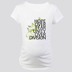 Obama Vine Half - Over Division Maternity T-Shirt