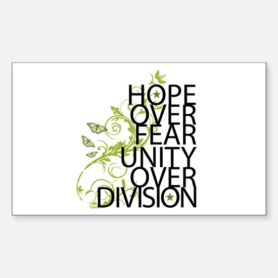 Obama Vine Half - Over Division Decal