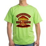Neighborhood Nuke Watch Green T-Shirt