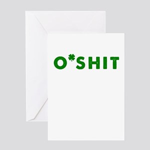 O'Shit Greeting Card