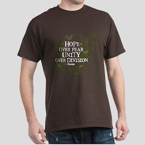 Obama Vine - Hope over Division Dark T-Shirt