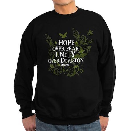 Obama Vine - Hope over Division Sweatshirt (dark)