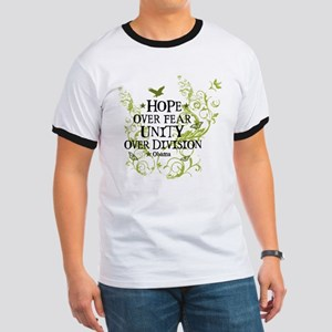 Obama Vine - Hope over Division Ringer T