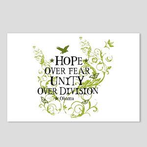 Obama Vine - Hope over Division Postcards (Package