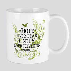 Obama Vine - Hope over Division Mug
