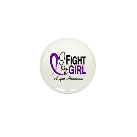 Fight Like A Girl Lupus Mini Button (10 pack)