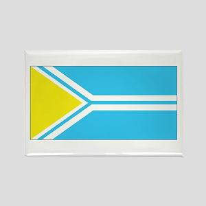 Tuva Flag Rectangle Magnet