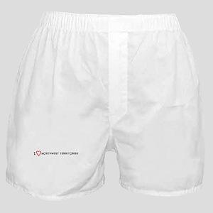 I Love Northwest Territories Boxer Shorts