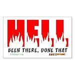 Hell Rectangle Sticker
