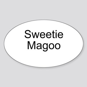 Sweetie Magoo Oval Sticker