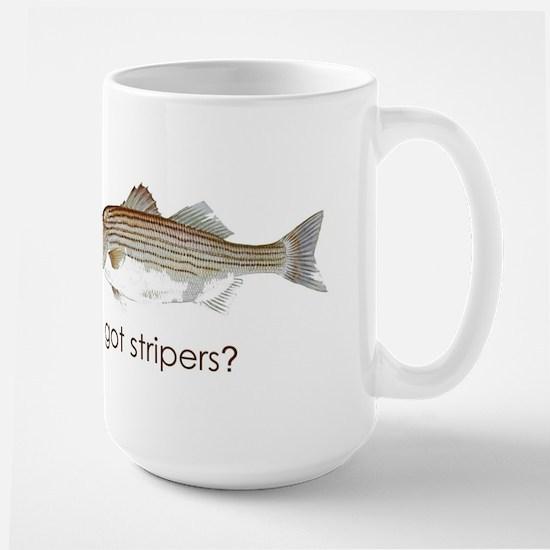 got stripers? Large Mug