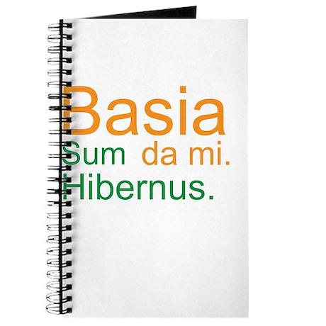 Kiss me. I'm Irish. (Latin; M Journal