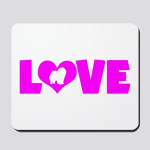LOVE CHOW CHOW Mousepad
