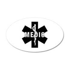 Medic EMS Star Of Life Wall Decal