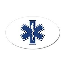 EMT Rescue 22x14 Oval Wall Peel